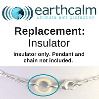 2-Pack of Insulators for EarthCalm Sterling Silver Pendant or Anklet