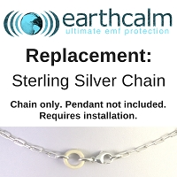REPLACEMENT: Sterling Silver Chain Replacement with Install